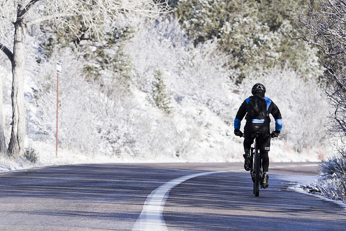 """Doświadczenie zimowego """"rowerowania"""" jest bardzo korzystne i przyjemne"""