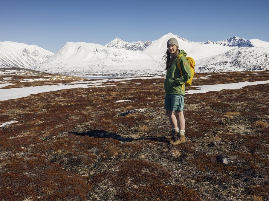 Karina_Greater na Grenlandii (fot. arch. Fjällräven)