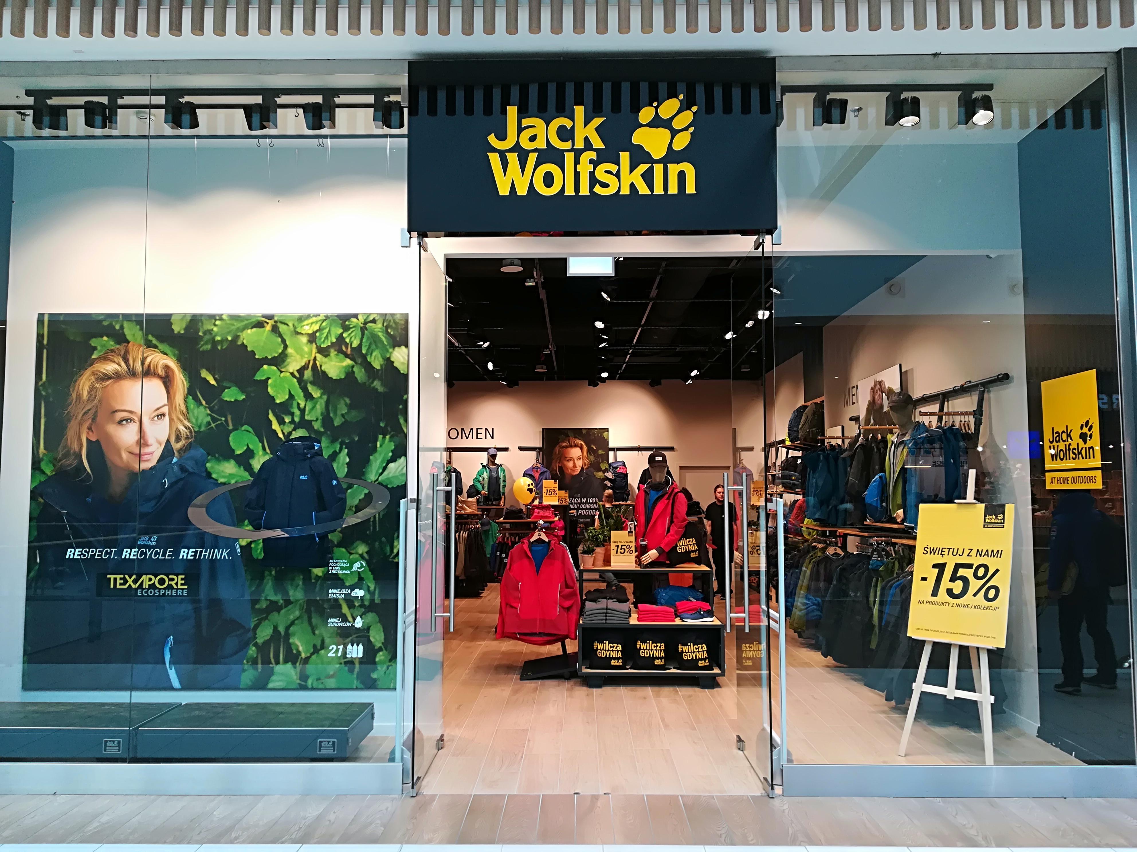 d2d5df8ec48a5b Nowy salon marki Jack Wolfskin w Gdyni