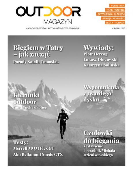 Outdoor Magazyn nr 4/2018, okładka