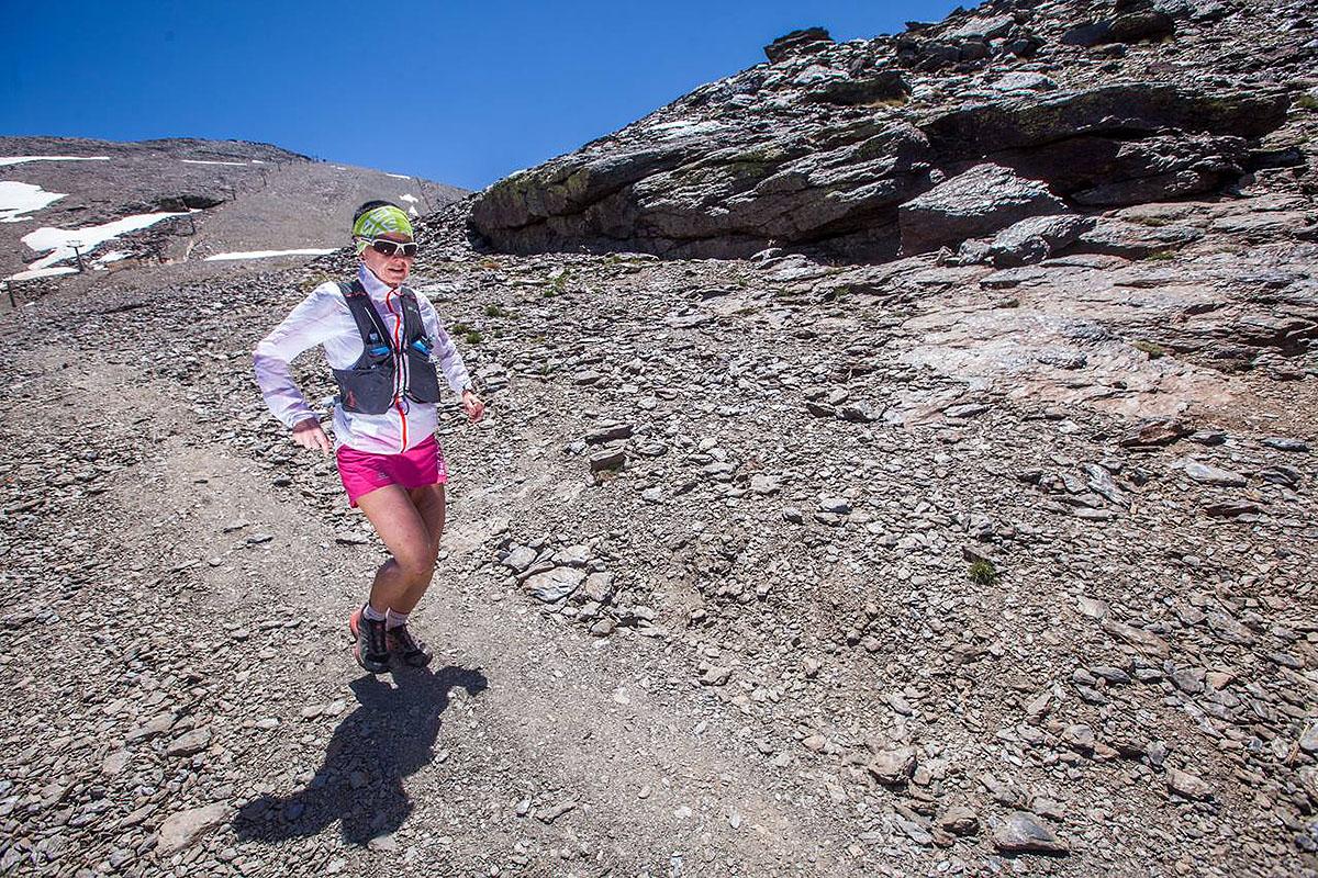 Magda Łączak na trasie Ultra Sierra Nevada (fot. Ultra Sierra Nevada)