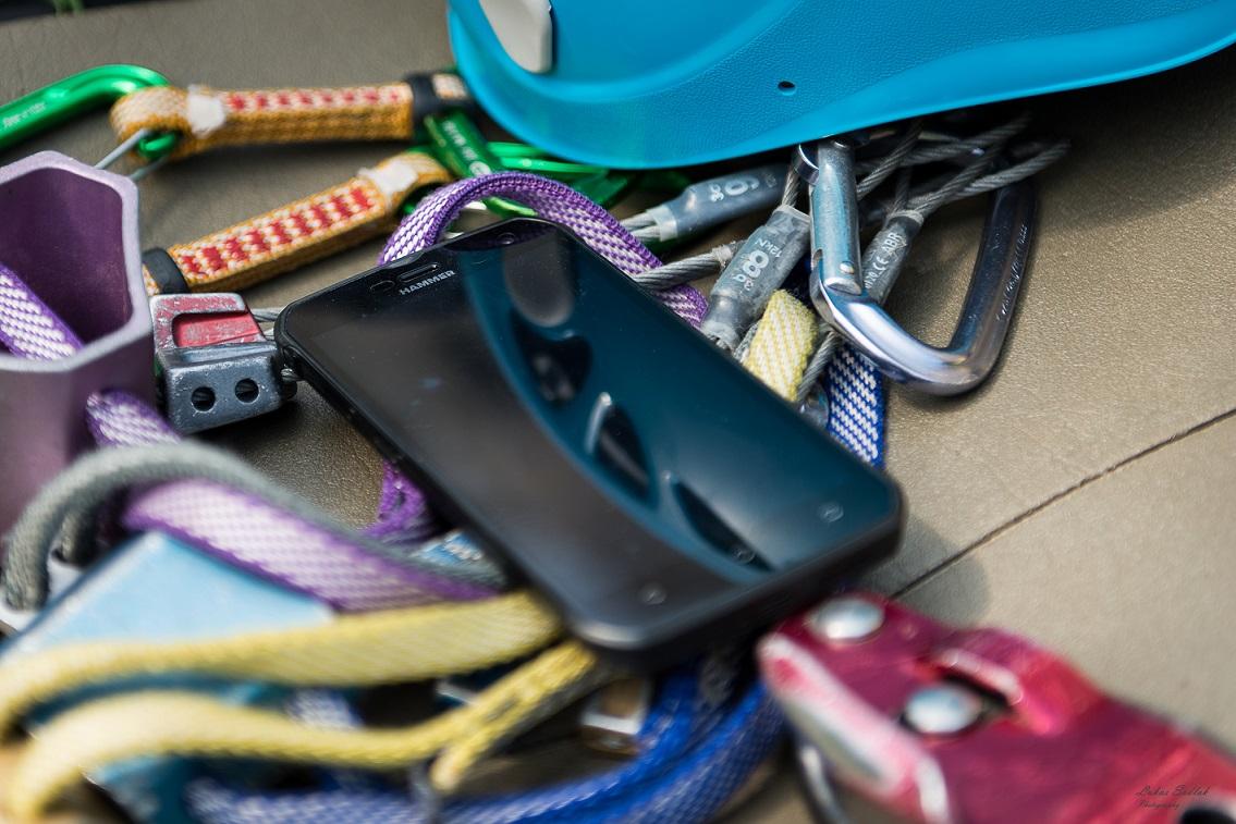 Telefon HAMMER Blade w akcji (fot. Lukas Sadlak Photography)