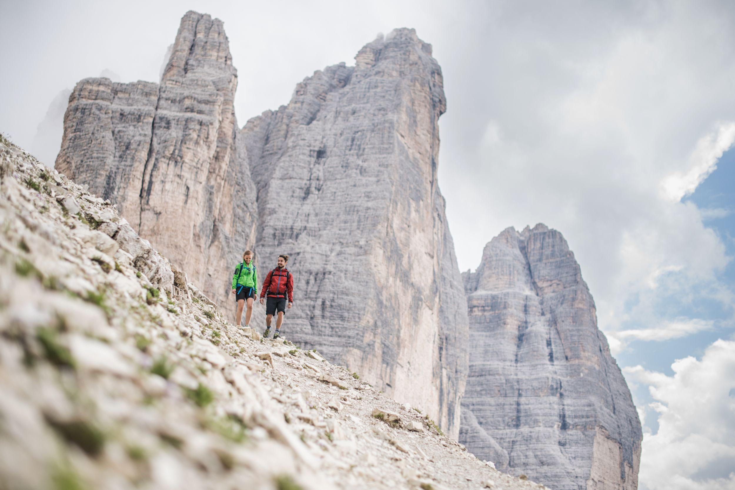 Dolomites UNESCO GeoTrail - Drei Zinnen / Tre Cime (fot. Südtirol / Harald Wisthaler)