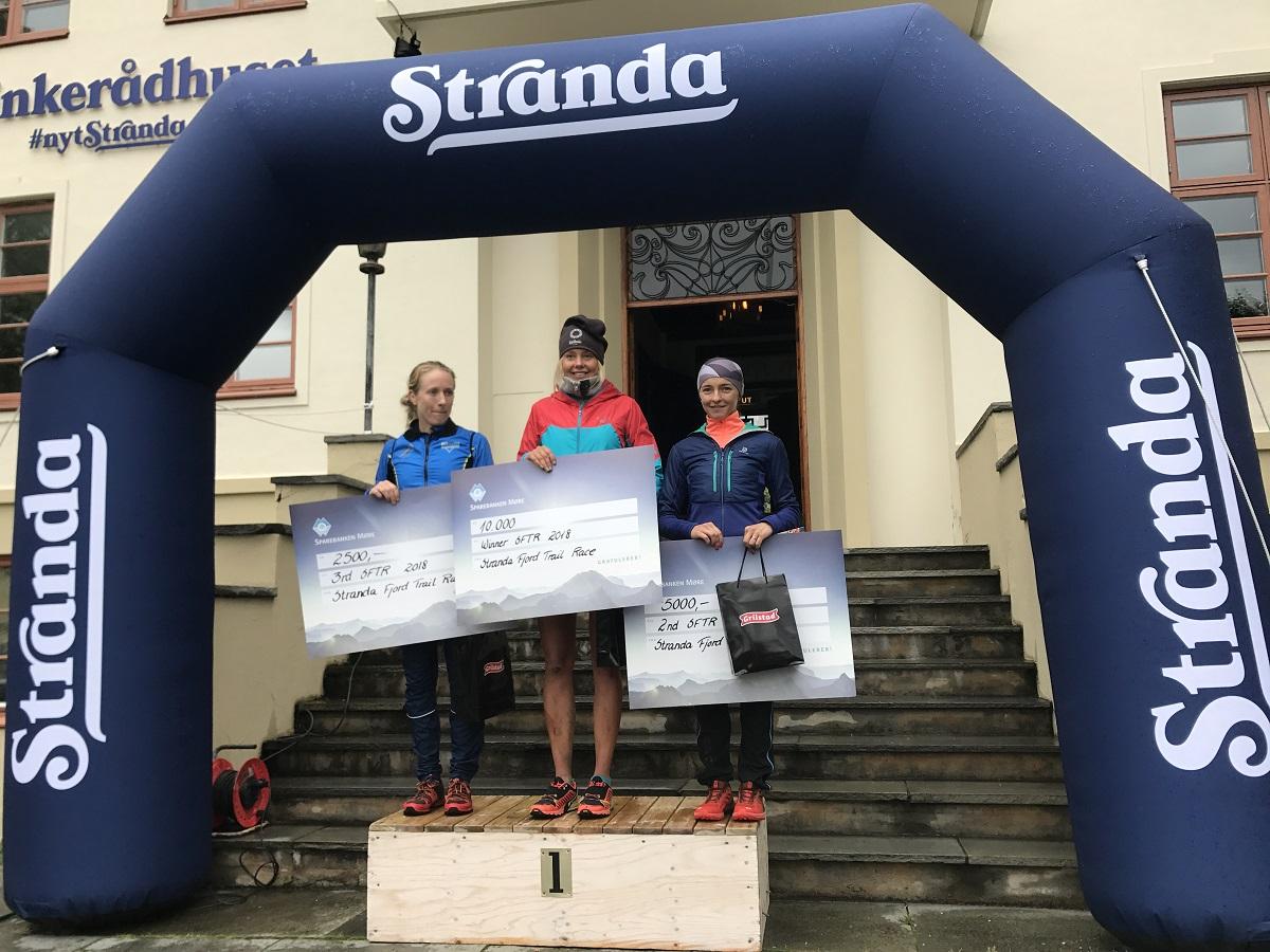 Natalia Tomasiak drugą zawodniczką Stranda Fjord Trai Race! (fot. Przemysław Ząbecki)