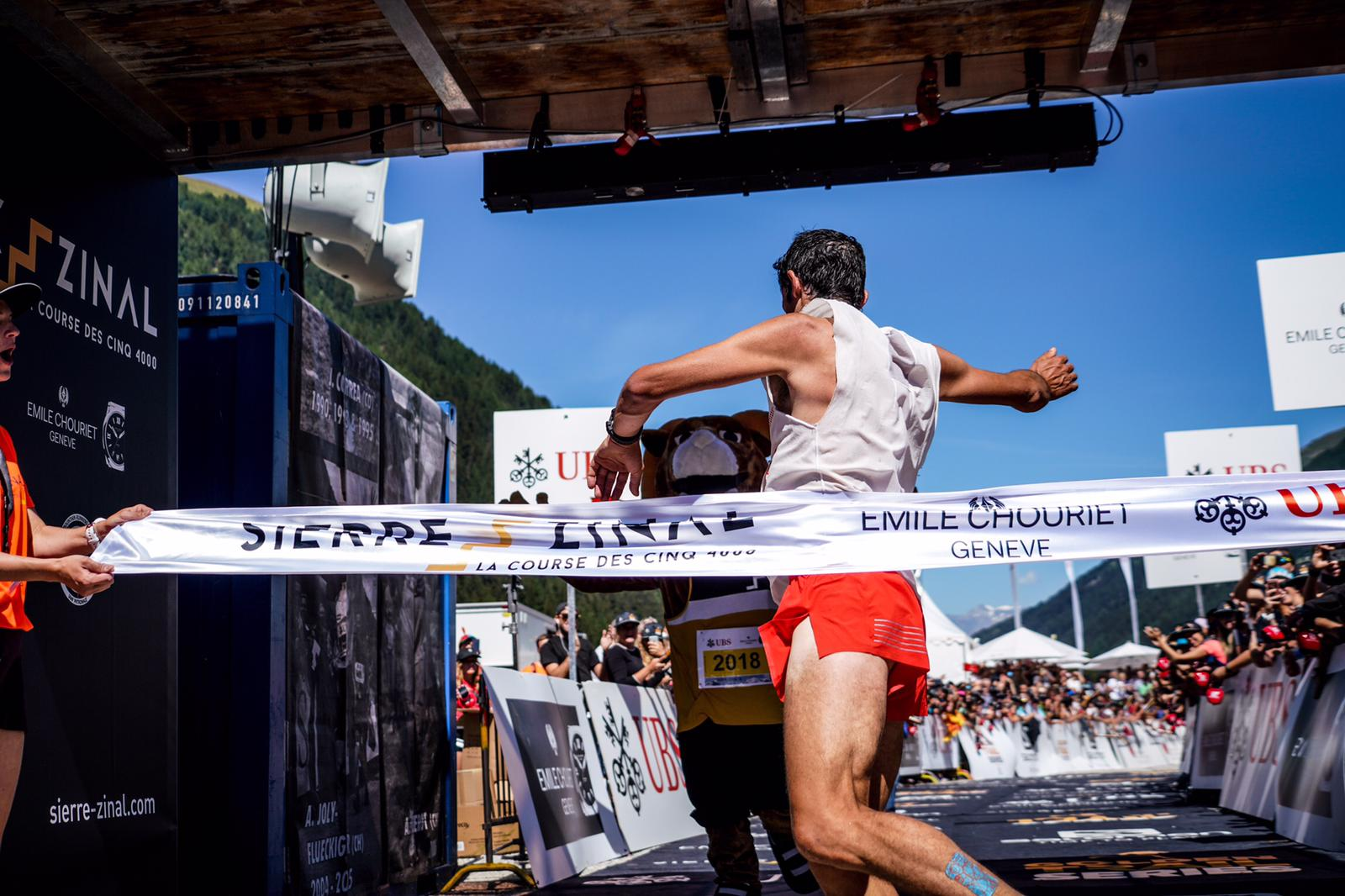 Kilian Jornet wygrywa Sierre-Zinal (fot. Martina Valmassoi / Patrycja Sap)