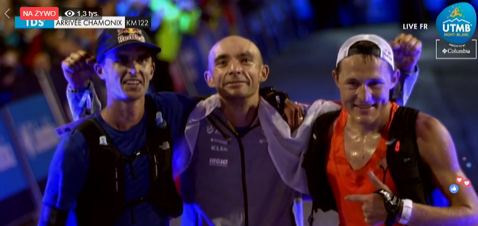 Marcin Świerc wygrywa bieg TDS w ramach festiwalu UTMB 2018 (fot. utmbmontblanc.com)