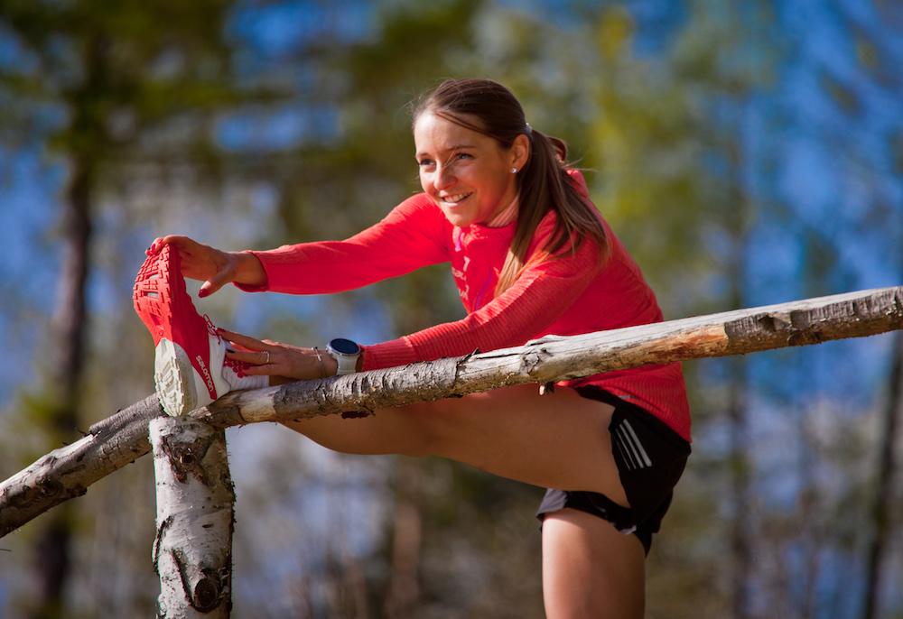 Natalia Tomasiak - sesja biegowa Muszyna (fot. Konrad Rogoziński / www.photogenium.pl)