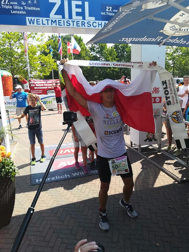 Robert Karaś - rekordzista świata w Triple Ultra Triathlon (fot. karasteam.pl)