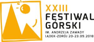 Znalezione obrazy dla zapytania festiwal górski XXIII