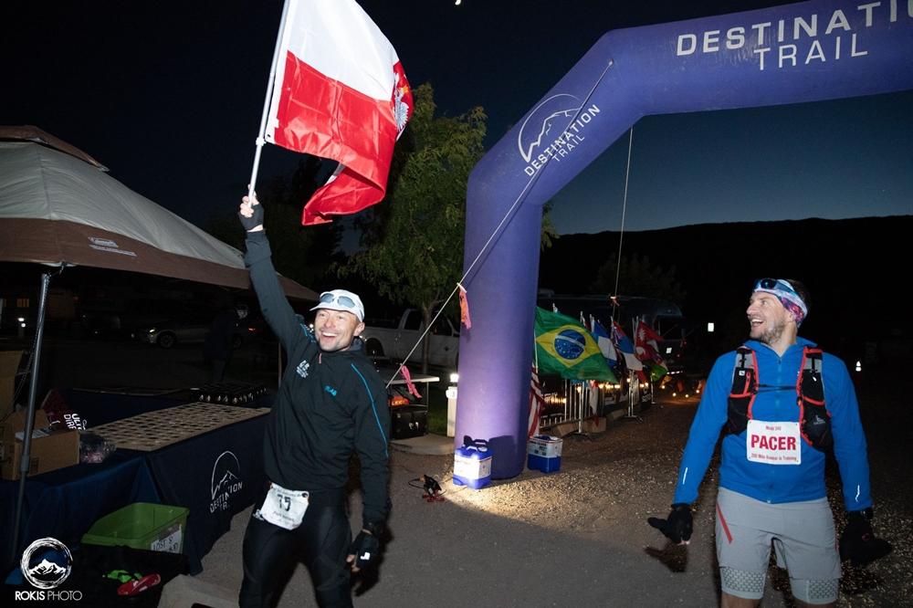 Piotr Hercog wygrywa Moab Endurance Run 240 (fot. materiały organizatora / Fan Page Piotra Hercoga)