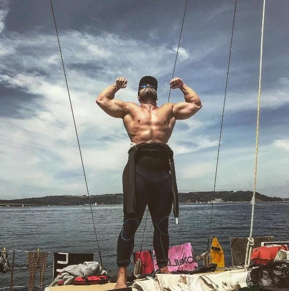 Ross Edgley (fot. Instagram - rossedgley)