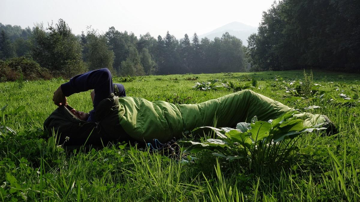 Nocleg pod chmurką w górach Bośni (fot. Outdoor Magazyn)