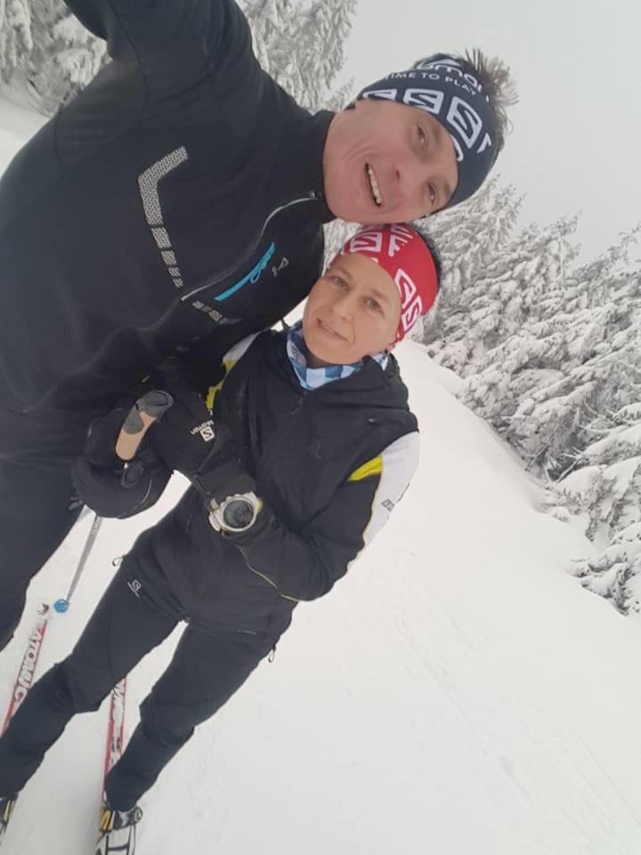 Paweł Dybek i Magda Łączak (fot. Salomon / Suunto Running)