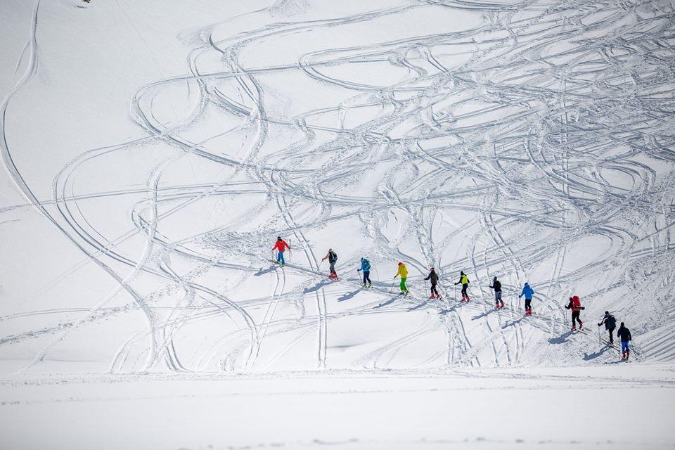 Dni Lawinowo-skiturowe 2018 r. (fot. 5+ Szkoła Górska)
