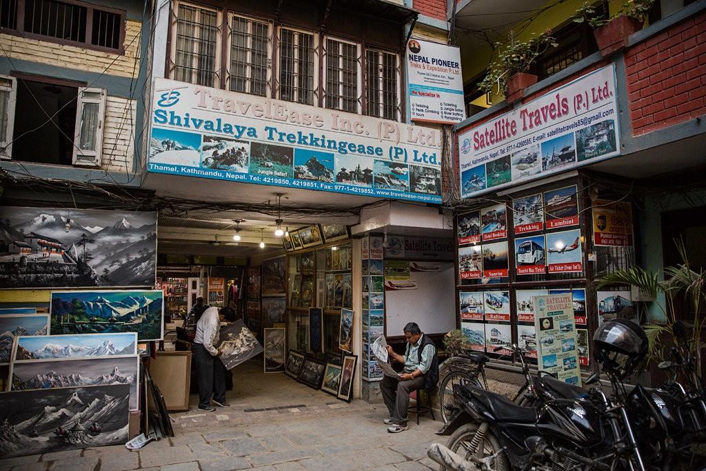 Kathmandu, jedna z firmy organizujących trekkingi w Nepalu (fot. Lauren DeCicca dla The New York Times)