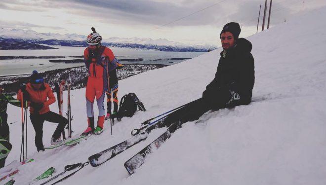 Kilian Jornet pobija rekord w 24 godzinnym wyzwaniu narciarskim (fot. @mattibernitz / @romsdalrando)