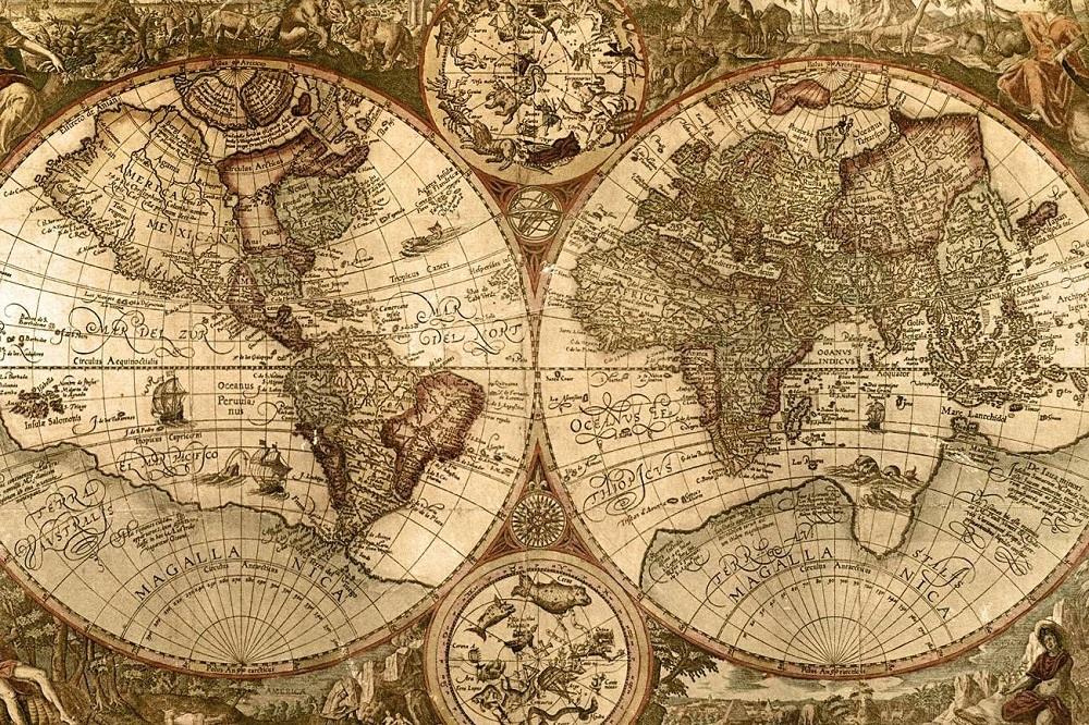 Mapa świata (fot. pinterest.co.uk)