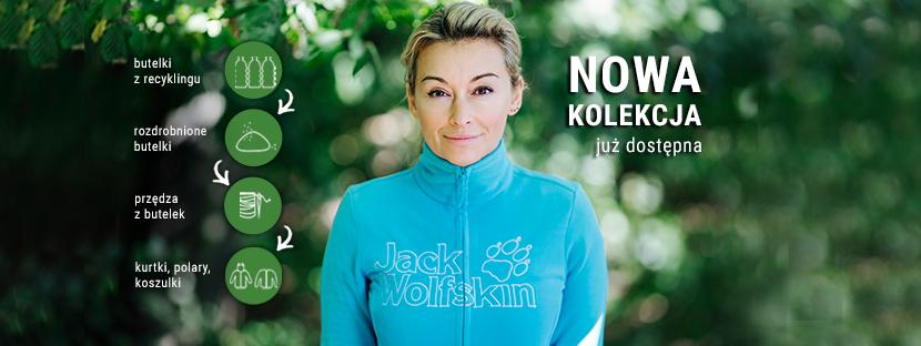 Martyna Wojciechowska wspiera markę Jack Wolfskin w jej proekologicznych działaniach (fot. materiał prasowy)