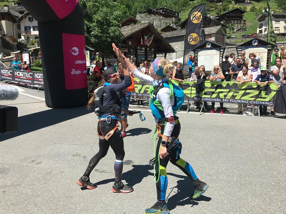 Natalia Tomasiak i Katarzyna Solińska zwyciężają w Monte Rosa Skymarathon (fot. Przemysław Ząbecki)