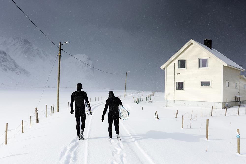 """W drodze na """"plażę"""" - wersja arctic (fot. Krzysztof Jędrzejak)"""