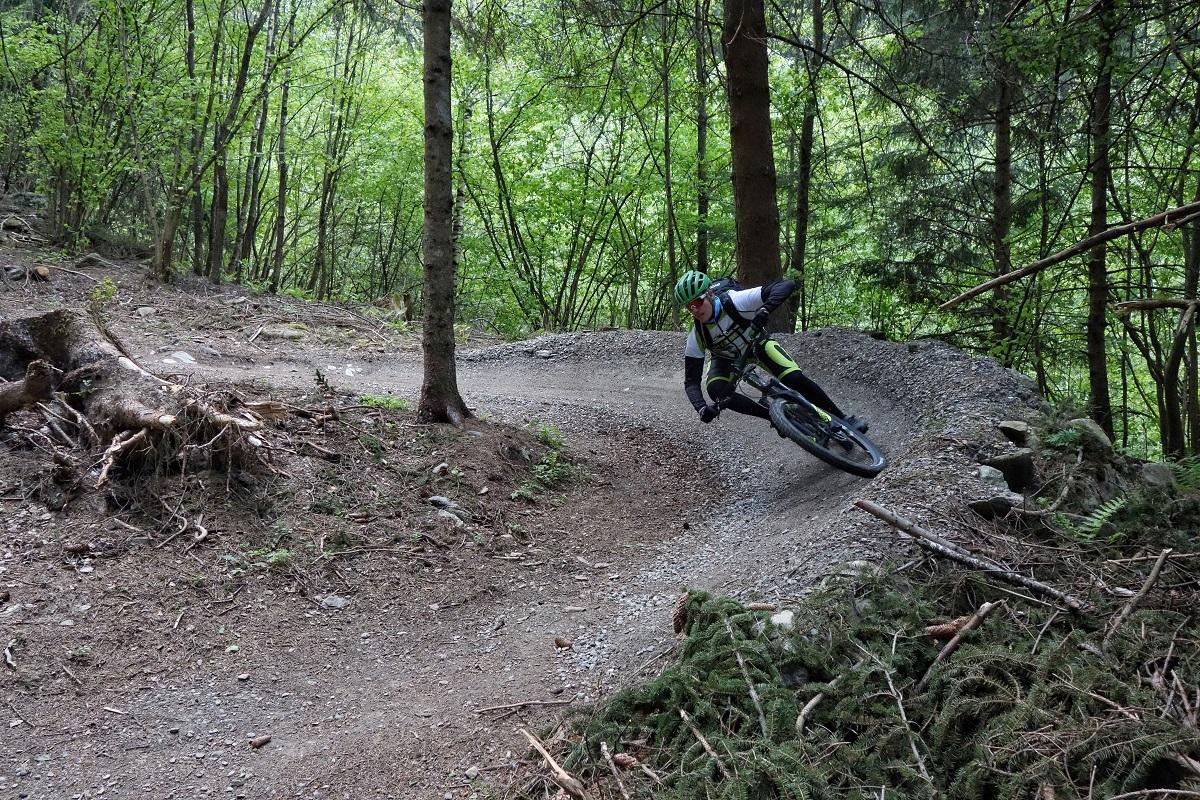 Daniel na flow tracku (fot. outdoormagazyn.pl)