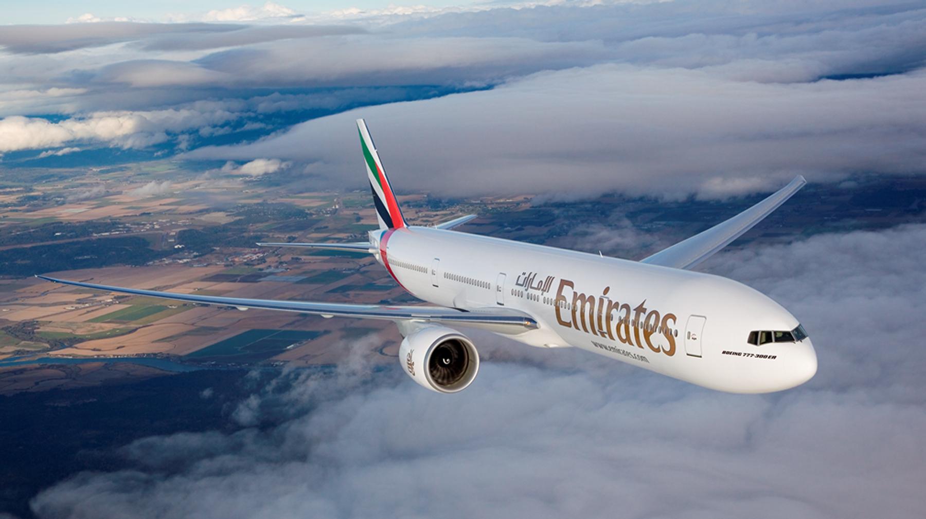 fot. mat. prasowy linii Emirates