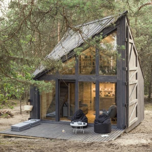 Bookworm Cabin (fot. arch. POLE Architekci)