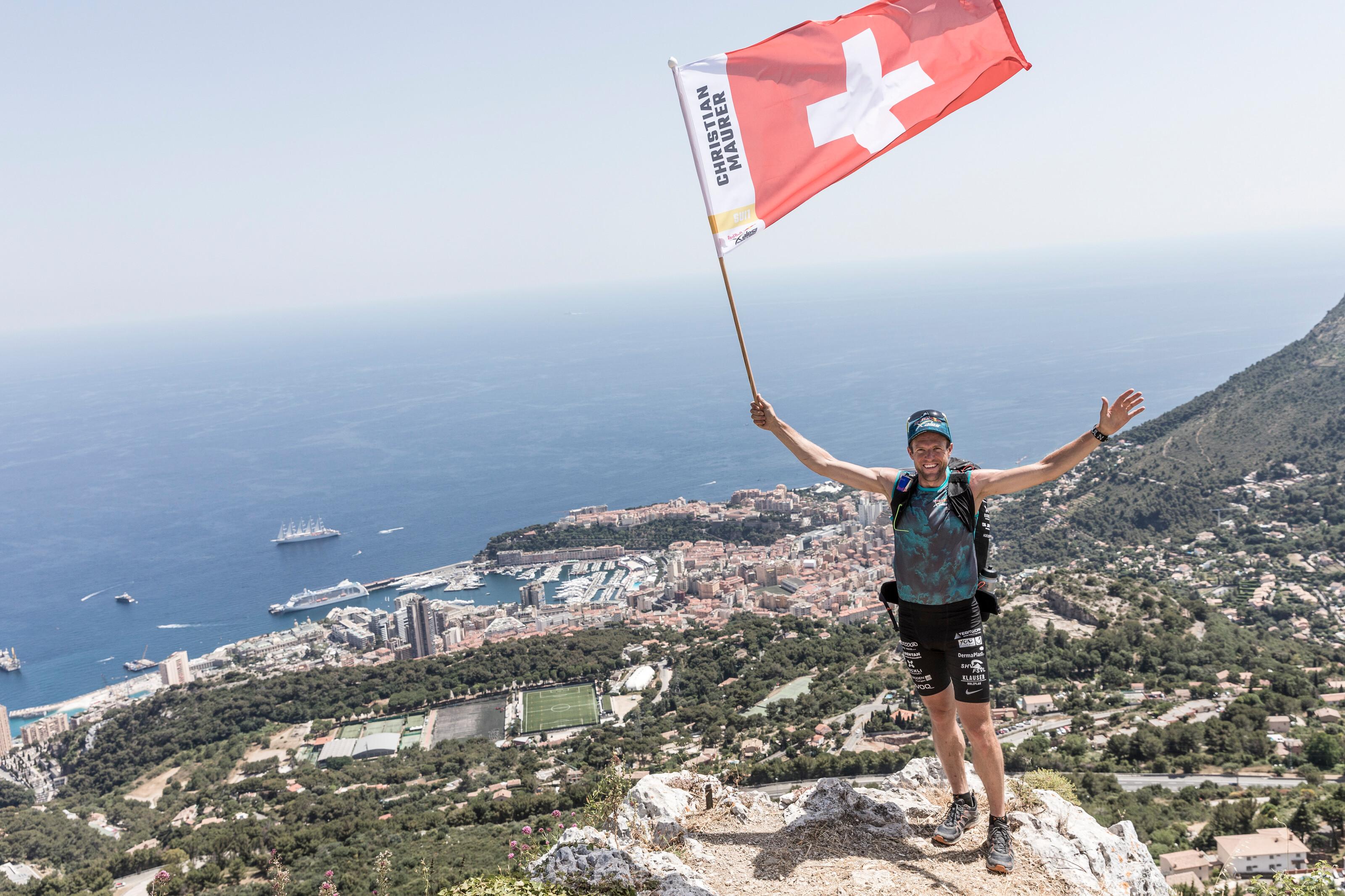 Christian Maurer triumfuje po raz 6. w Red Bull X-Alps (fot. Harald Tauderer / Red Bull Content Pool)