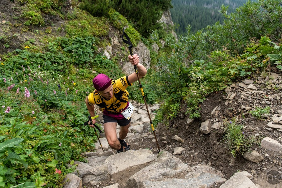 Bieg na Babią Górę przez Perć Akademików (fot. Krzysztof Nagacz)