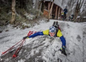 Natalia Tomasiak i Pavel Brydl zwycięzcami Zimowego Półmaratonu Gór Stołowych (fot. Piotr Dymus/Olga Słonina)