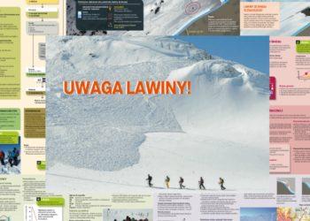 """Wiedza w pigułce: """"Uwaga Lawiny!"""" - broszura do pobrania (fot. Fundacja im. Anny Pasek)"""