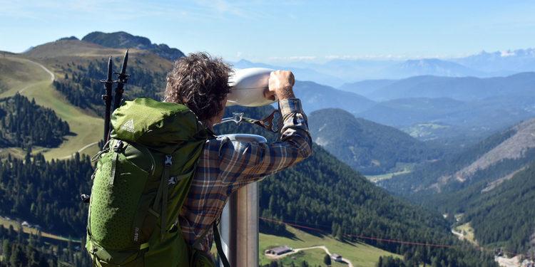 Podczas wycieczki w Dolomitach, Latemar (fot. Monika Hajnos)