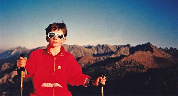 Jedna z pierwszych czasówek. Tatry 1995 (fot. arch. Filip Babicz)