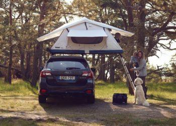 Montowany na dachu auta namiot Thule Tepui (fot. Thule)