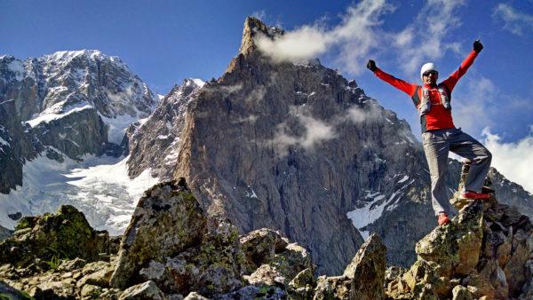Trening biegowy w masywie Mont Blanc (fot. arch. Filip Babicz)