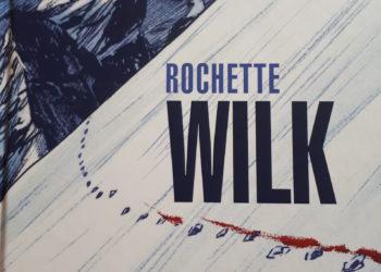 "Okładka komiksu ""Wilk"" Jean-Marca Rochette'a (fot. Ilona Łęcka / outdoormagazn.pl)"