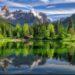 Jezioro Welsperg, Trentino (fot. Simone Sbaraglia)