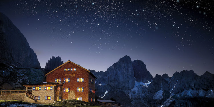 Rifugio Roda di Vael, Val di Fassa, Trentino (fot. C. Baroni / Trentino)
