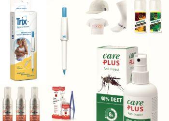 Przegląd produktów chroniących przed pajęczakami i insektami (fot. materiały producentów)