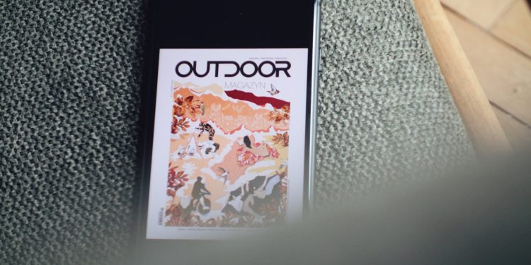 OM w wersji elektronicznej (fot. outdoormagazyn.pl)
