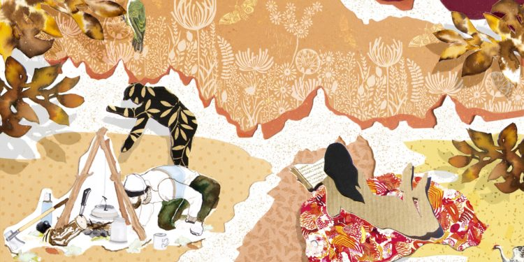 Fragment okładki 11. OM. Ilustracja: Antonina Chmielewska