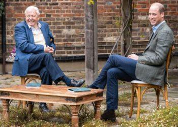 David Attenborough I książę William (fot. CNN)