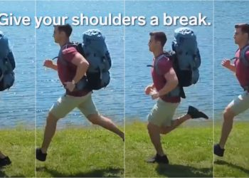 fot. kadry z filmu Tech Insider - Floating Backpack