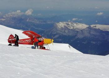 18 czerwca 2019, na wysokości 4450 metrów Mont Blanc