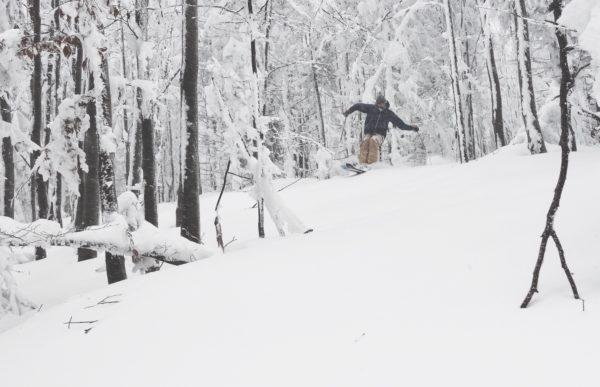 Skitouring, freeride