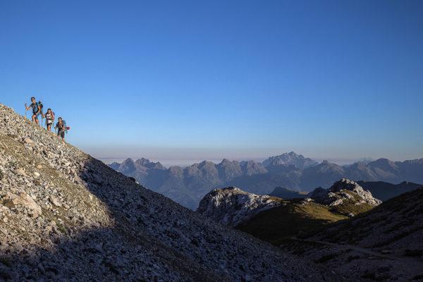 Podejście w kierunku Rifugio Torre di Pisa (fot. Alice Russolo / Trentino)