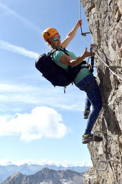 Via ferrata Sentiero Attrezzato Campanili Del Latemar (fot. outdoormagazyn.pl)