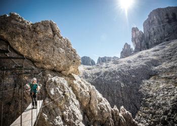 Jedna z via ferrat Południowego Tyrolu (fot. molography.it)